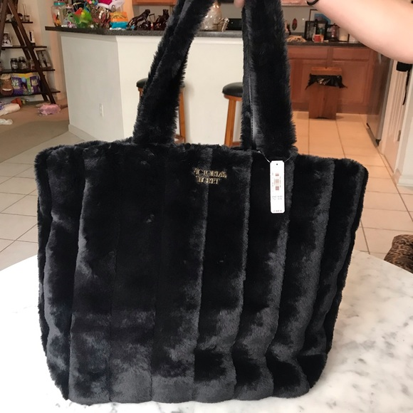Victoria's Secret Handbags - Victoria secret fur tote